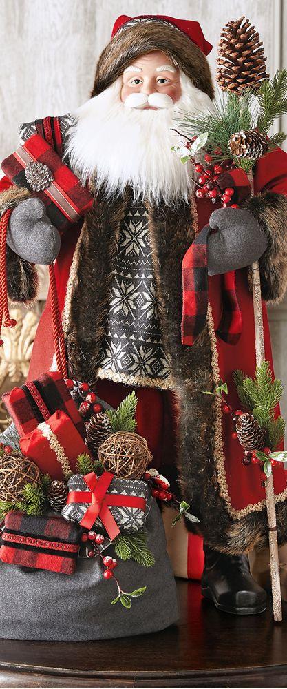 Winter Fantasy Santa