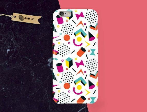 Funny Colorful iPhone 7 Case iPhone 6 Case by KatarsisFactory