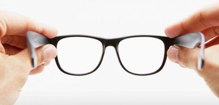 Setzen Sie die Brille auf!