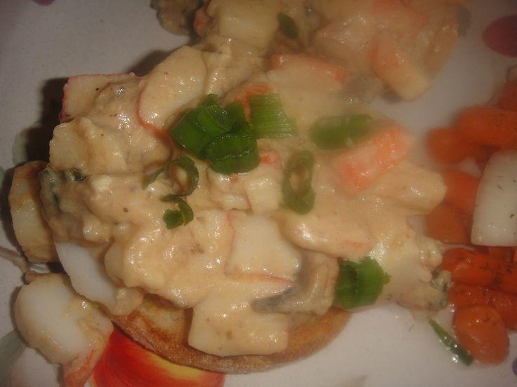 25+ best ideas about Newburg sauce on Pinterest | Seafood newburg, Shrimp newburg and Lobster ...