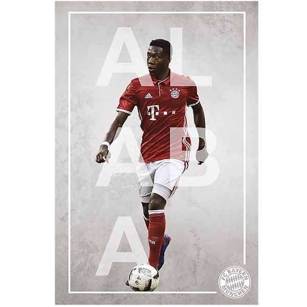 FC Bayern München Poster David Alaba