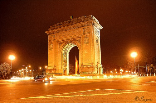 Bucharest's Arc de Triumph