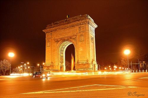 Bucharest's Arc de Triumph