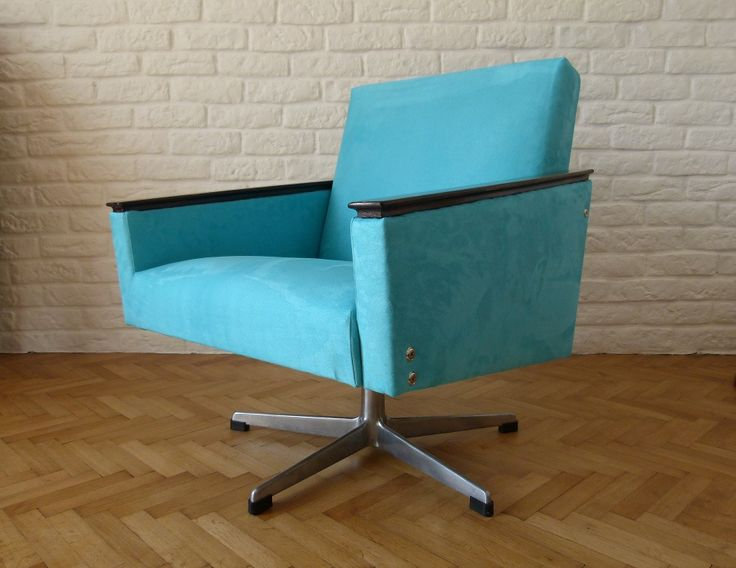 Armchair Cube Turquoise Complete renovation