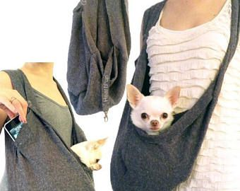 Am besten kleine Hund Träger Sling Tasche mit Haustier Gurt Clip ist Headset, wie auf Shark Tank-TV-Show zu sehen