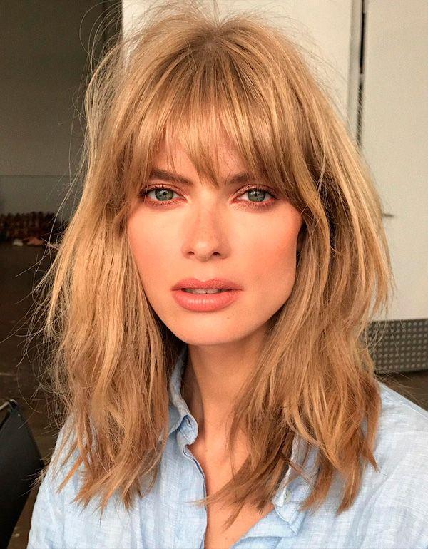 Messy hair Julia Stegner