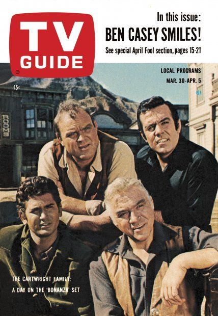 Bonanza thats a old show that show was on nbc for about the past 14 years