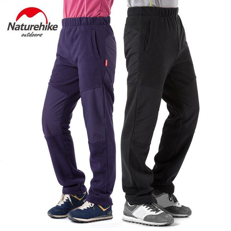 Naturehike Men's Windproof Trousers Winter Warm Fleece Trousers Sport Pants NH02Z009-RM