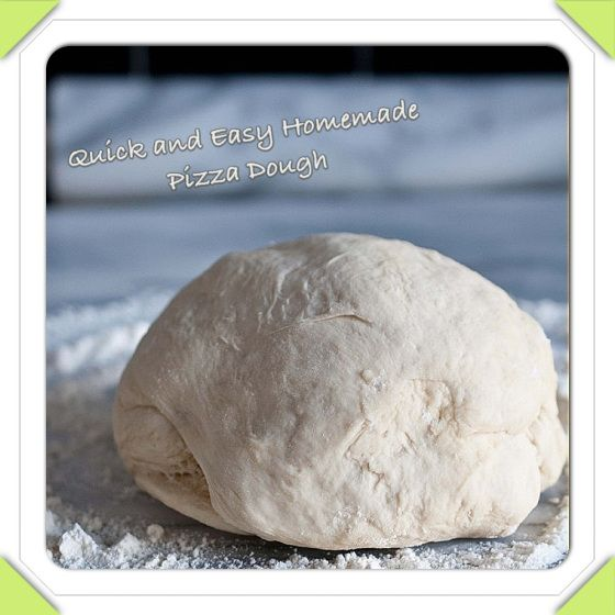 Pizza dough (Works)