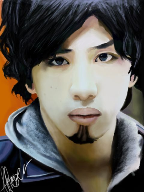 My Digital Painting of Taka from One Ok Rock #taka #oor #oneokrock #digitalart #art #digitalpainting #wacom #painting #drawing #artwork