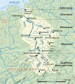 Weser - Wikipedia, the free encyclopedia
