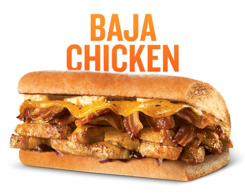 quiznos baja | Quiznos Baja Chicken