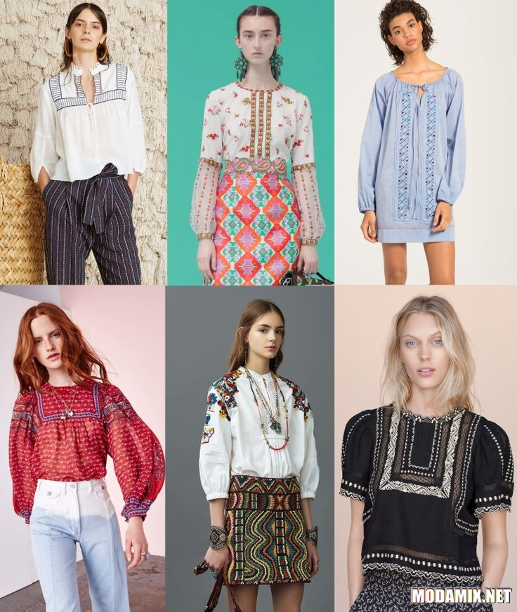 Рубашки в славянском стиле