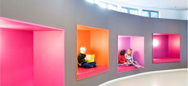 Wall storage | Education_Interior_Architecture | Pinterest