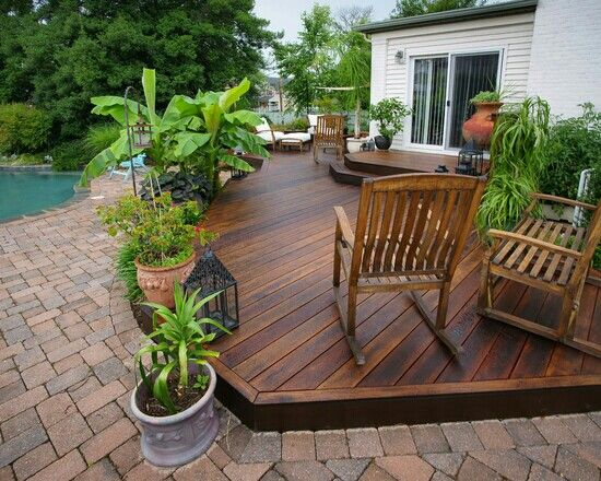 14 best flat decks images on pinterest backyard patio gardening