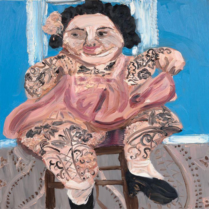 Amanda Doran,Tattooed Lady
