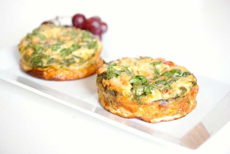 Salmon and Spinach Individual Crustless Quiche Recipe | Healthy Meal Ideas from Bumble Bee