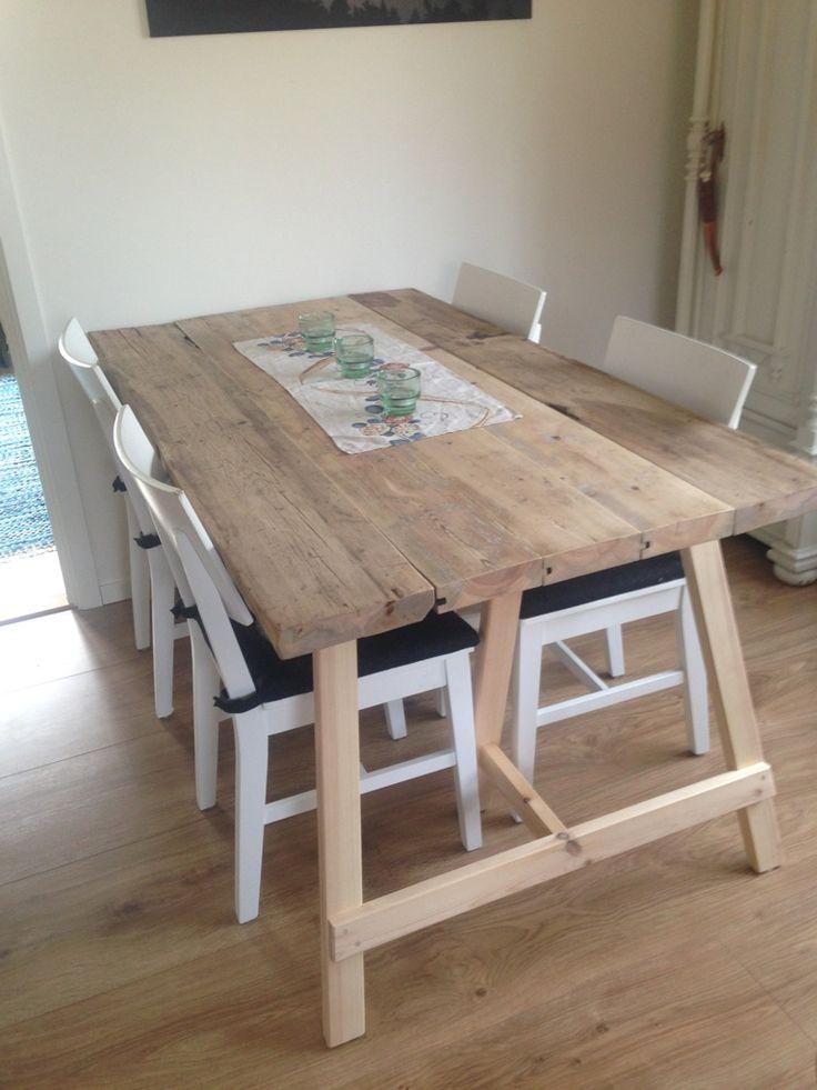 köksbord av gamla plankor - Sök på Google