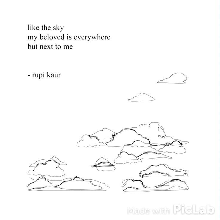 Beautiful and sad Rupi Kaur  Quotes  Pinterest  Citat