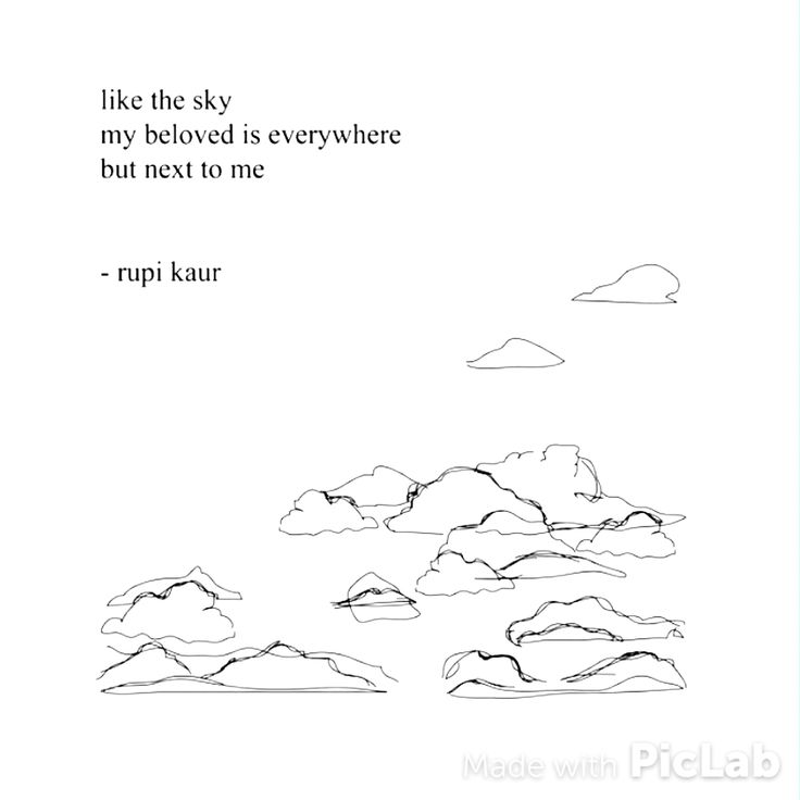 Sad Quotes About Love Pdf : ... and sad Rupi Kaur Quotes Pinterest Beautiful, The sky and I love