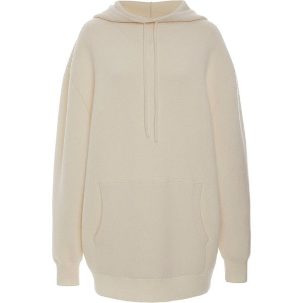 Hoodie Jumper | Moda Operandi ❤ liked on Polyvore featuring tops, hoodies, hooded hoodie, kangaroo pocket hoodie, brown hoodie, hooded sweatshirt and hooded pullover
