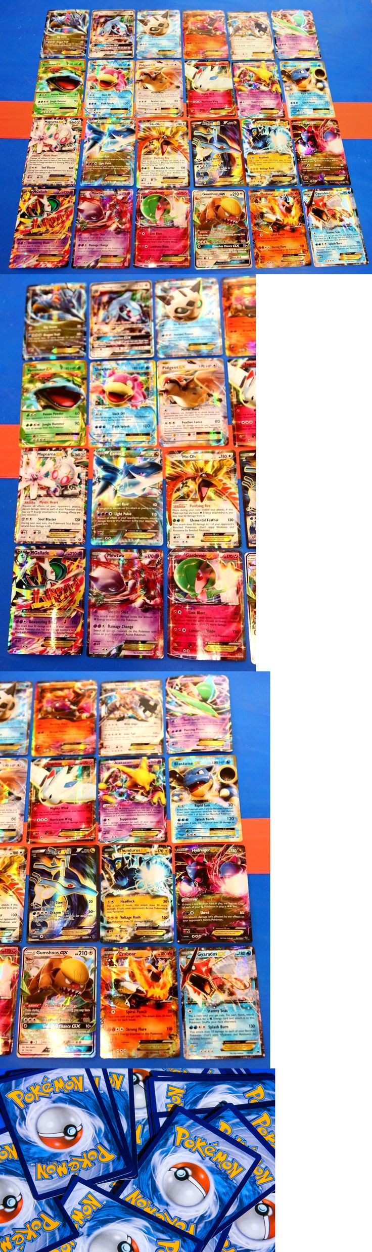 Pok mon Mixed Card Lots 104049: Pokemon 24 Card Lot All Ex Gx Cards Guaranteed Authentic Pokemon Ultra Rares! -> BUY IT NOW ONLY: $95.95 on eBay!
