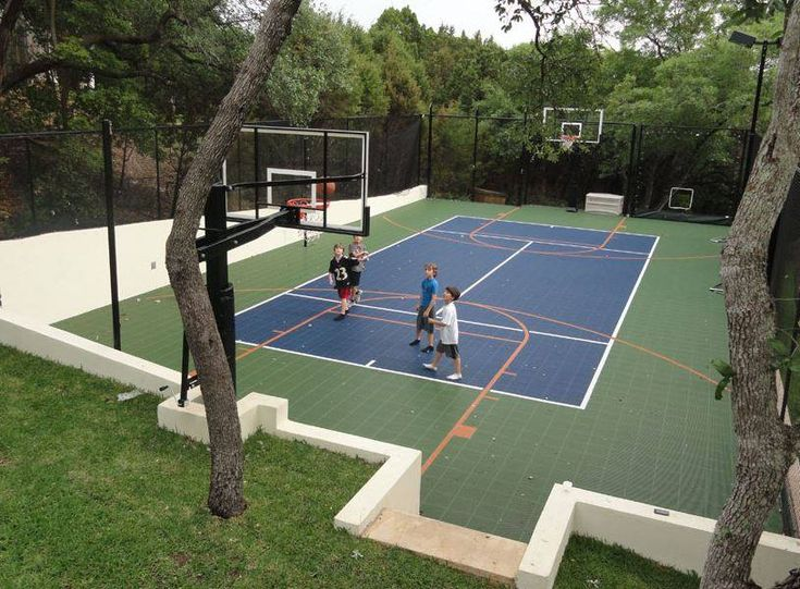 17 Best Images About Backyard Courts On Pinterest