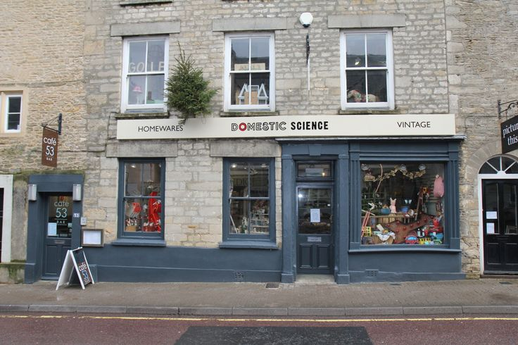 the new shop front for Domestic Science and Cafe 53