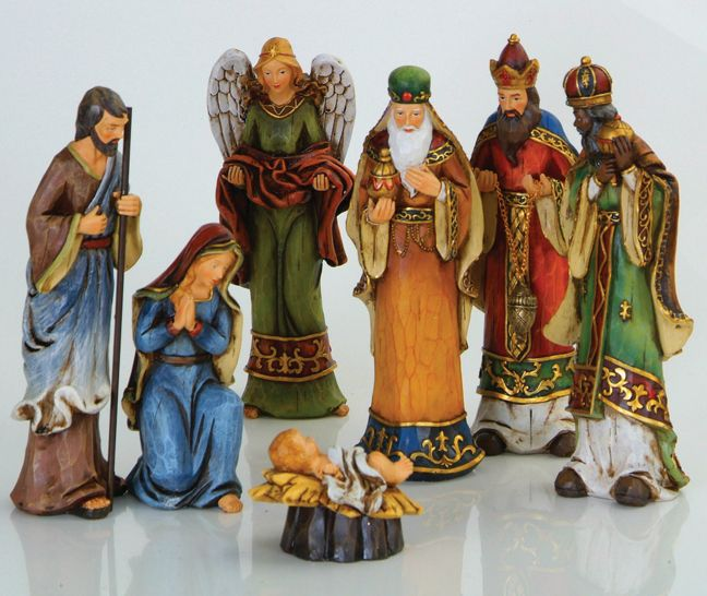i like this nativity set...well kind of