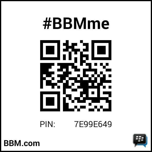my New Pin BB