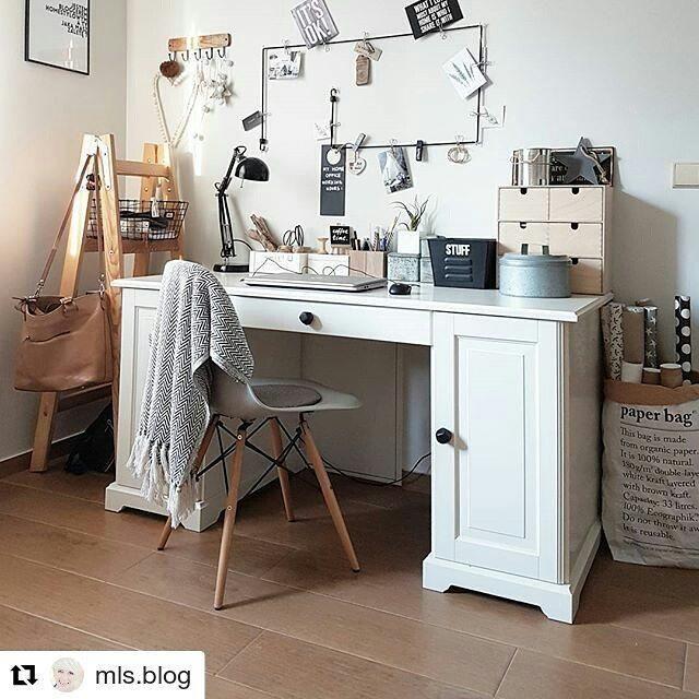 """Pocket: 48 Likes, 2 Comments - Twoje meble, gałki od REGAŁKA (@regalka) on Instagram: """"#Repost @mls.blog ・・・ Patrząc na takie piękne biurka, jak to @mls.blog popadamy w kompleksy.  Czas…"""""""