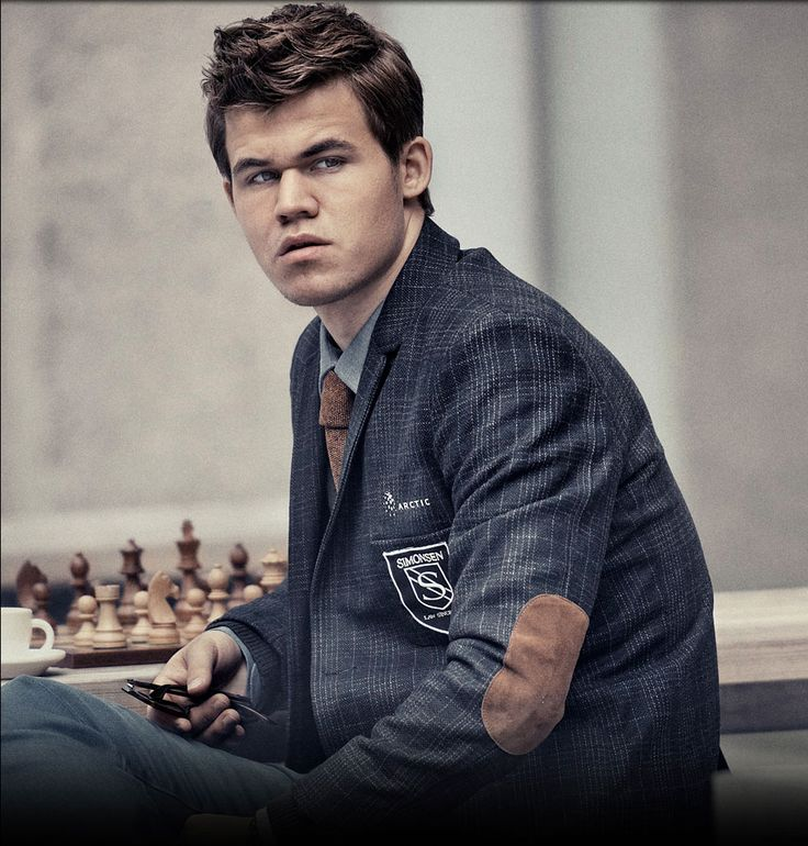 Magnus Carlsen: Brains and self confidence, combined with  gentlemanly behavior.   Doesn't get sexier than that.