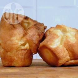Award winning Yorkshire pudding Makes: 12 Yorkshire puds  225g plain flour 1 teaspoon salt 4 eggs, beaten (see tip) 300ml milk