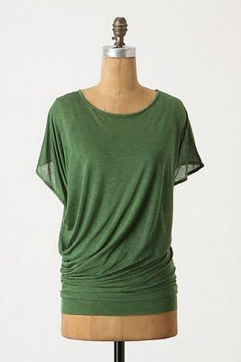 Morning by Morning Productions: Knock off sewing - Drapey tops