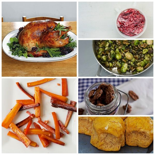The complete menu for Savvy Thanksgiving 2013.  #thanksgiving #blogherholidays
