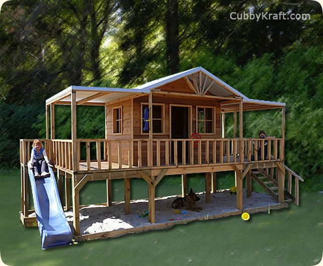 66 Best Cubby Houses Images On Pinterest Playhouse Ideas
