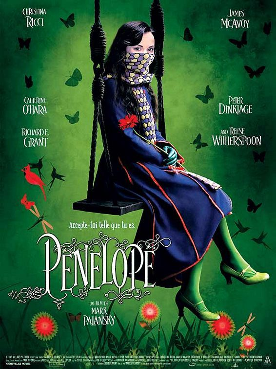 """ Penelope "" - A modern fairytale comedy about perception, the crazyness of society pressure, and of course, love... really refreshing! Great cast too."