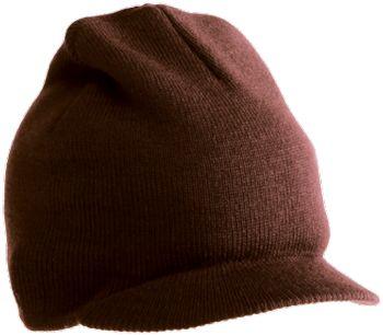 Yupoong-Watch Cap w/Visor | Knit Beanies : Custom, Blank and Wholesale Beanies $37.56 ($3.13/each) BLACK, OLIVE, BROWN