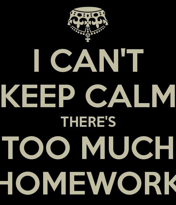 how much math homework