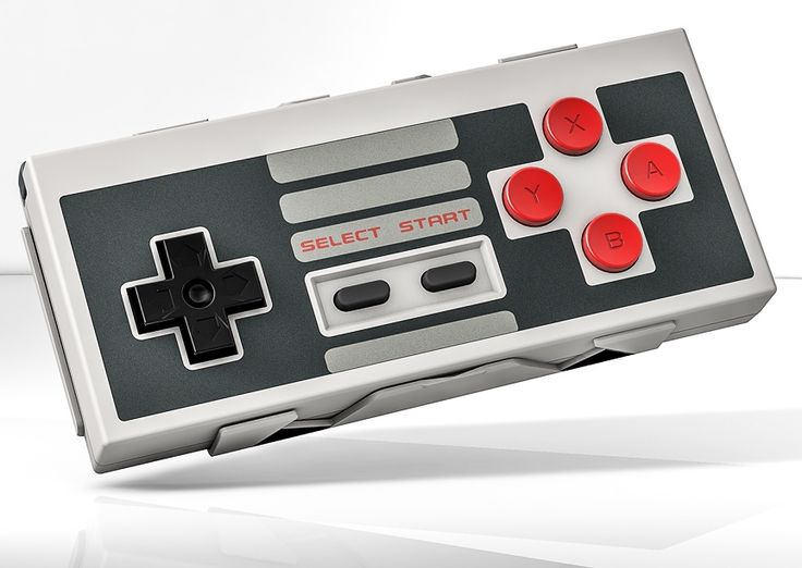 8bitdo NES 30 Bluetooth Gamepad(Android,iOS,MAC,PC)