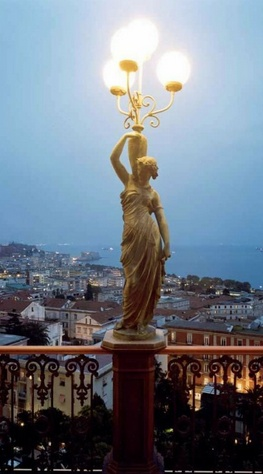 Veduta di Napoli, Italy