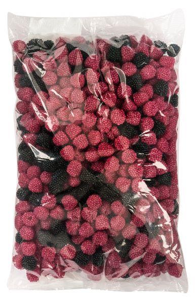 Du willst Deine Gäste auf der nächsten Party überraschen? Dann biete die HARIBO Berries auf der Candy-Bar an. Beobachte, ob zuerst die schwarzen oder die beliebten pinken Himbeeren aus der Color-Rado-Mischung vernascht sind. Du wirst zum Star mit den beliebten Berries von HARIBO!