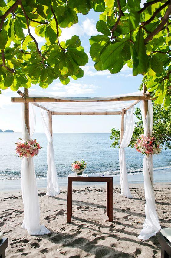 Beautiful Beach Wedding In Costa Rica