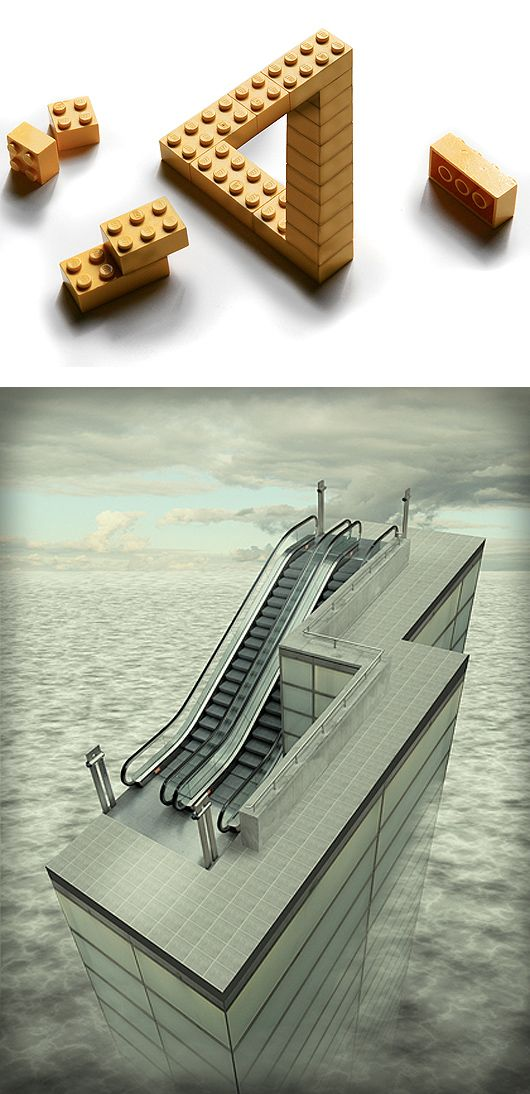 17 best images about impossible architecture on pinterest for Architecture impossible