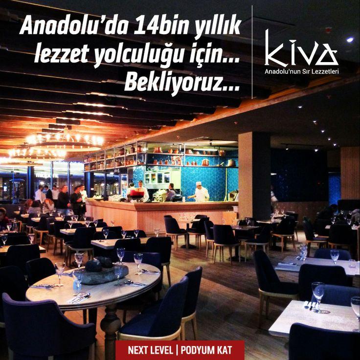 Kiva yemeklerinin tatları, Ankaralıların damağında kaldı!  Siz de hala Kiva'ya uğramayanlardansanız, bu zevkten mahrum kalmayın!  Kiva Ankara Next Level Podyum Katta!  #kiva #kivaankara #ankara #anatolia #anadoluyemekleri #ankararestaurant #yummy #yoreseltatlar #yoreselyemekler #turkey #turkiye #turkishcuisine #turkrestaurant #turkishrestaurant #nextlevel