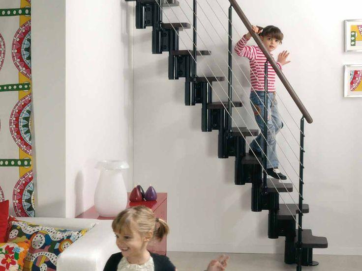 Fontanot Arkè Kya: easy to assemble prefab stair kits | Fontanot Staircases