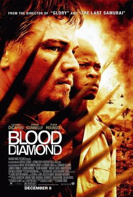 As civil war rages through 1990s Sierra Leone, two men, a white South African mercenary (Leonardo DiCaprio) and a black Mende fisherman (Djimon Hounsou), become joined in a common quest to recover a rare gem that has the power to transform their lives. With the help of an American journalist (Jennifer Connelly), the men embark on a hazardous trek through rebel territory to achieve their goal.