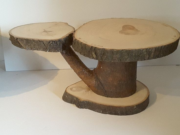 a wedding cake recipe rustic tree slice display stand wedding or home decor 10978