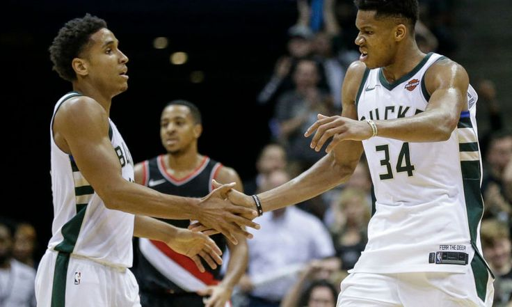 Giannis Antetokounmpo is real threat for NBA MVP crown = Giannis Antetokounmpo isn't just on a list of NBA MVP candidates. He's right near the top. Prior to the start of this season.....