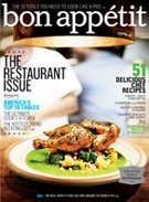 Love the day my new issue of bon appetit arrives, glass of wine and read cover to cover.